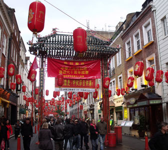 Visitar Chinatown Londres