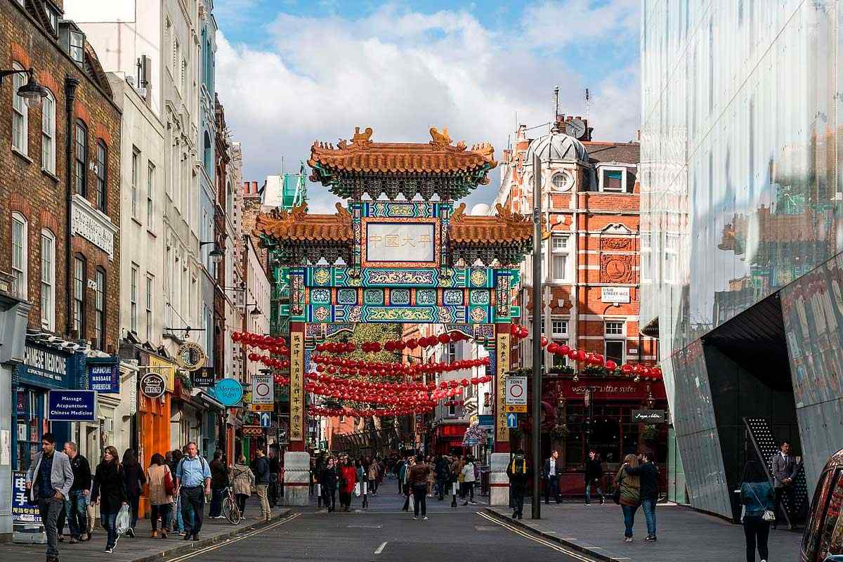 Barrio Chinatown Londres
