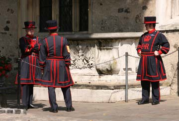 Curiosidades de la London Tower: Beefeaters